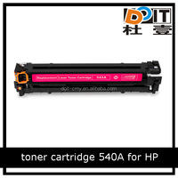 for HP original toner cartridge 540A compatible toner with CM1312 CM1312nfi newest chip