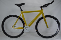 aluminum alloy frame lightweight fixed gear bicycle