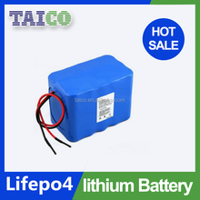 Lithium rechargeable 26650 25.6V 10Ah lifepo4 battery pack