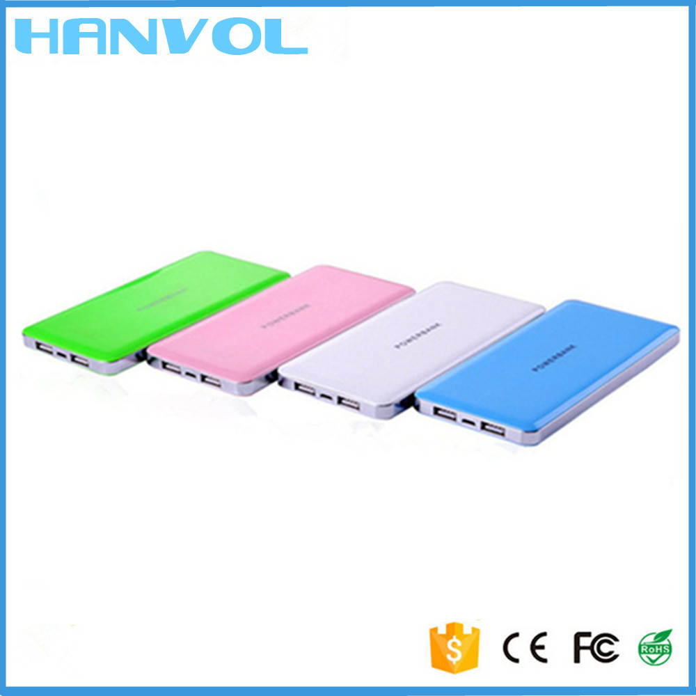 Original ROHS CE 12000mAh Power Bank for iPhone 6 Samsung Android Mobile Phones Power Bank
