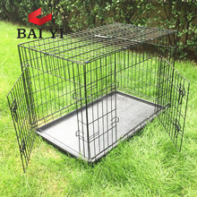 Dog Supplies Aluminum Folding Dog Cage For Sale