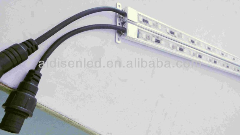 Aluminum 5050 smd RGB full-color IC programmable LED rigid strip