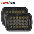 "high quality hi/lo beam square 7x6 7"" led headlight for Truck"