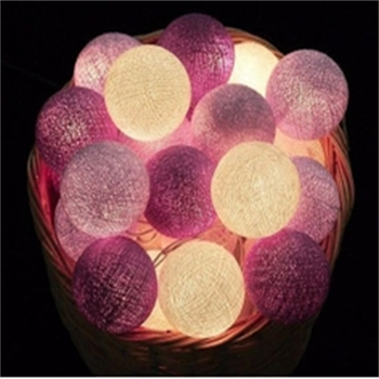 Hot sale 20 Led cotton ball lights