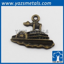 casting make ship shaped pendant