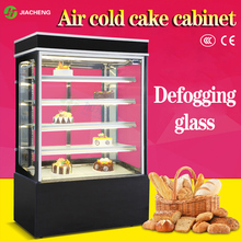 JIACHENG cake cabinet bread refrigerator display cabinet pastry fruit showcase air-cooled display cooler freezer LS2000