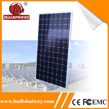 High conversion rate 130w photovoltaic ploly solar panel for sale
