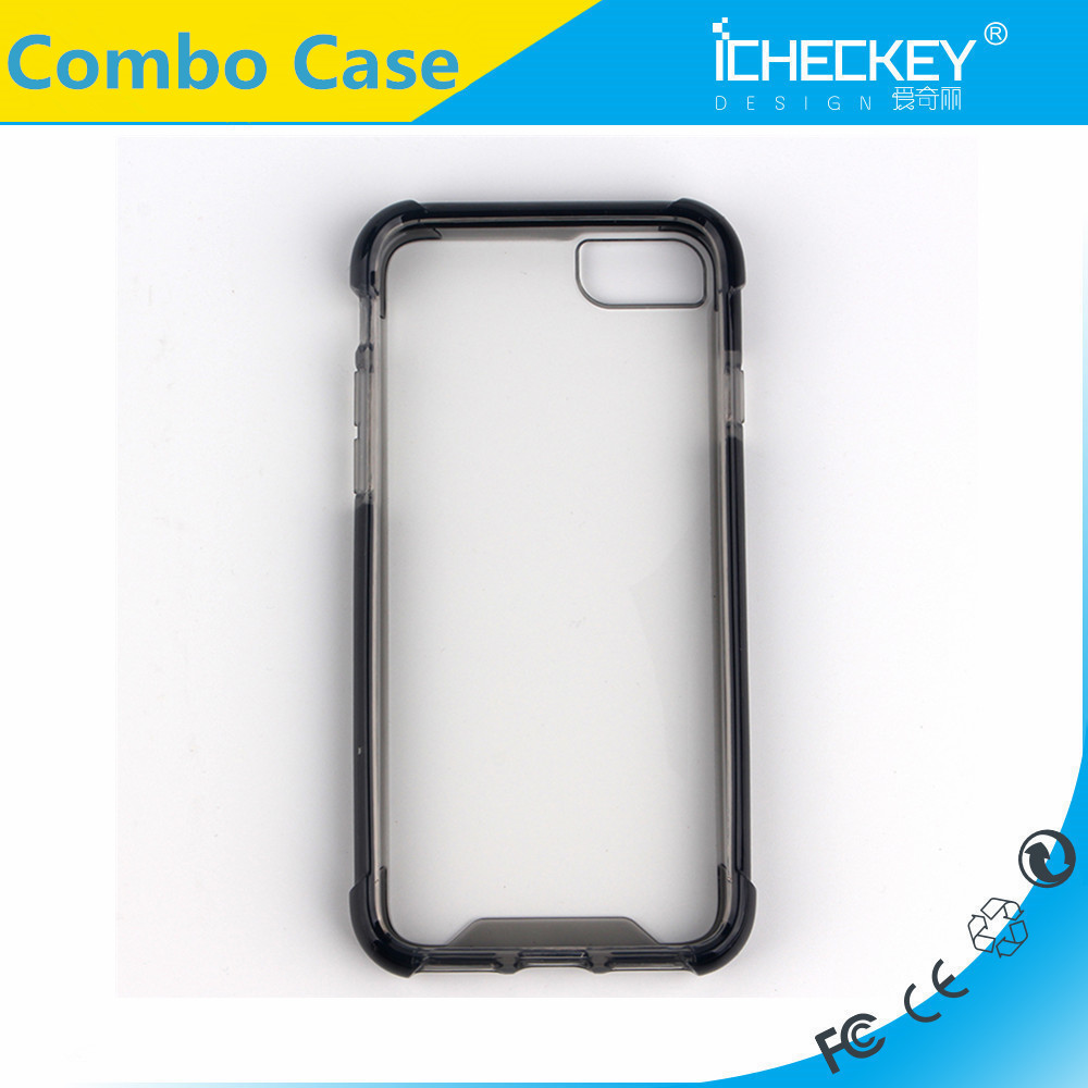 Ultra Thin Clear Crystal Transparent TPU Case Cover For iPhone 7