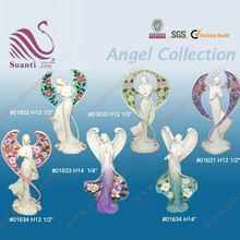 Poly resin decorative angels