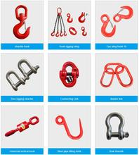 Carbon Alloy Steel G80 Lifting Rigging Hoist Eye Hook With Latch S-320