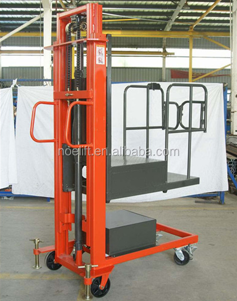 300kg electric order picker Work permit visa for europe