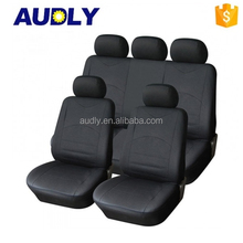 Universal Fit 9-Piece Luxury Leather Car Vehicle Protective Seat Covers