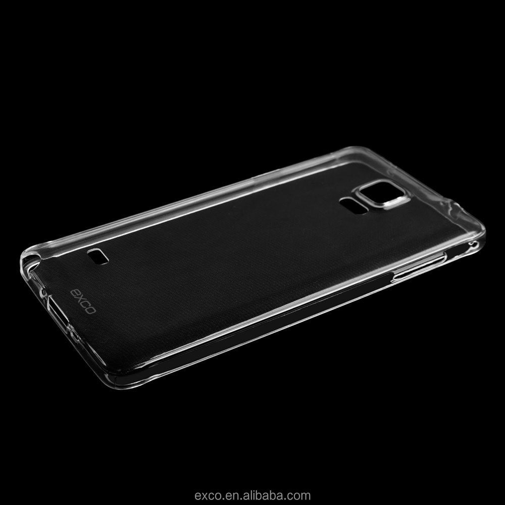 EXCO soft clear TPU cute cell phone cases wholesale for Samsung Galaxy note4