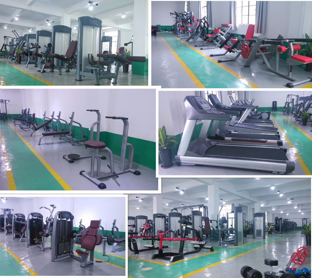 Commercial Gym Running Machine / Crawler Treadmill with TV