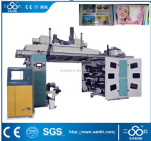 High speed Central Drum Flexoggraphic Printing Machine