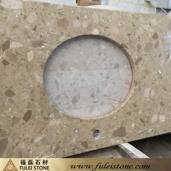 good price polished faux marble countertop