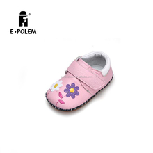 Newest design autumn winter soft sole infants newborn genuine leather baby shoes