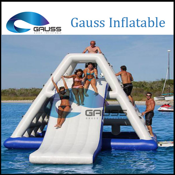 PVC giant commercial inflatable water park slide for adult