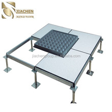 Steel cementitious antistatic access raised floor system 600*600 mm