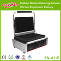 Medium Sized Cast-iron Grills Commercial Contact Grill Toaster, Sandwich Maker Ribbed Plates BN-811E