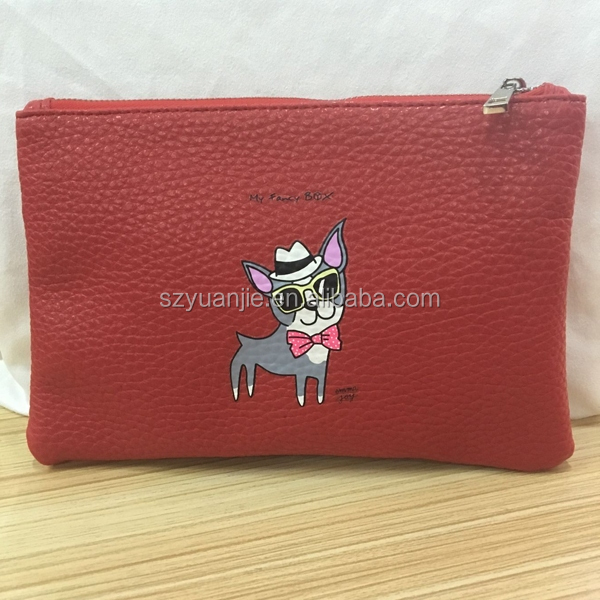 custom pu leather coin purse for women