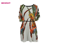 Latest New Model XXL Size Women Casual Dress Spring Summer 2017 Different Designs Dress
