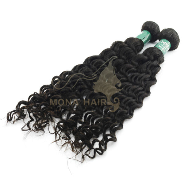 Top Quality Virgin Remy Chinese Kinky Curly Human Hair Weaving