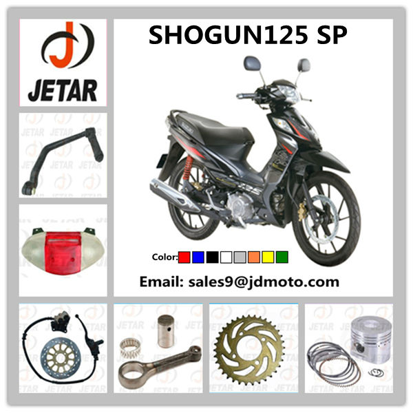 Spare Parts for Motorcycle SHOGUN