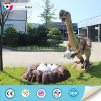 Landscape animatronic model moving dinosaur toy