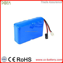 Stable discharge rechargeable li ion 12v 8ah motorcycle battery pack