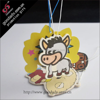 Cartoon Mavericks Design car air fresheners factory Custom car air fresheners with own logo