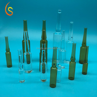 Pharmaceutical glass tubing maded 10ml sterile vials for injection sold by ampoule container