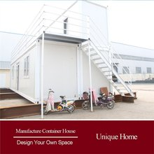 Prefabricated luxury prefab movable container house canada for sale