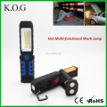 Hands-free COB LED Work Light with Stand and Red Light