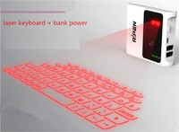 Mini Portable Wireless Bluetooth Laser wireless keyboard for smart tv
