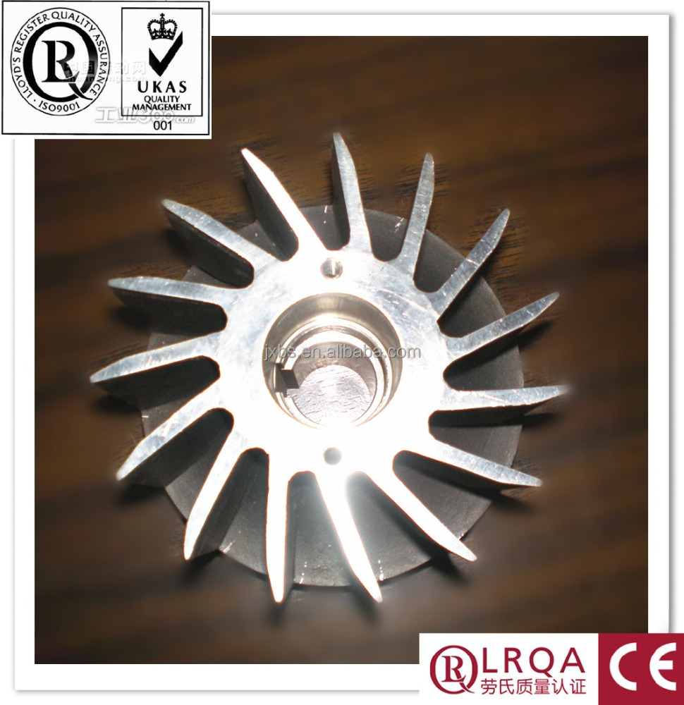OEM lost wax investment cast sus 316 stainless steel boat impeller custom alloy steel precision casting production