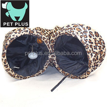 Plush Animal Shaped Pet Bed Cat Tunnel/Cute Pet Dog Play Tunnel