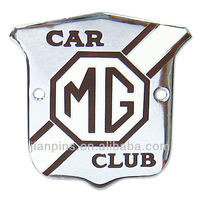 Top selling high quality car badge emblem front