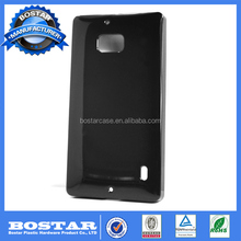 factory price black soft TPU mobile phone case for Nokia 930