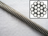 ungalvanized steel wire rope 12mm