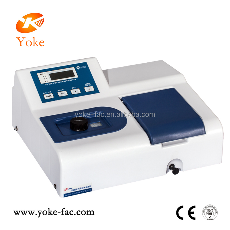 single beam UV visble portable spectrophotometer price