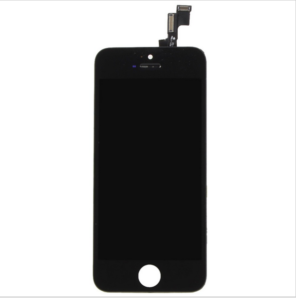 For iphone 5s LCD Display Screen With Touch Screen Panel Glass Digitizer Replacement