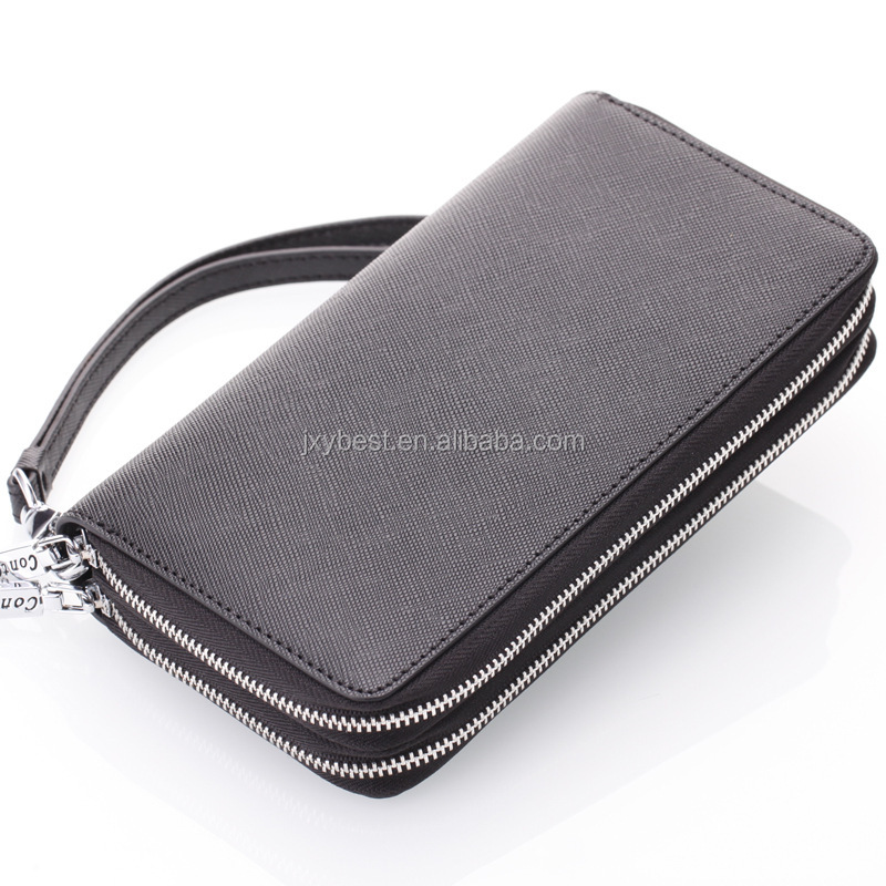 Fashion custom lady wallet card holder key holder key bag new arrival