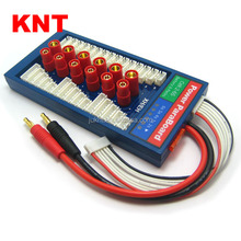 KNT HXT6.0 Safe Parallel Charging Board 40A ParaBoard with 6 Packs JST-XH (2-6S) for RC Lipo Charger