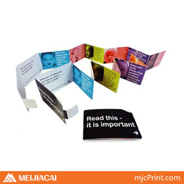 2014 factory price printing top quality custom travel brochure