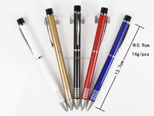 twist action high quality anodized aluminum pen