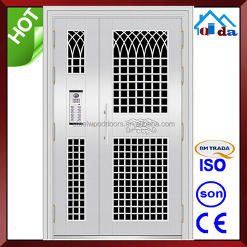 QD-SS111 Entrance Anti- theft Villa Main Stainless Steel Front Door