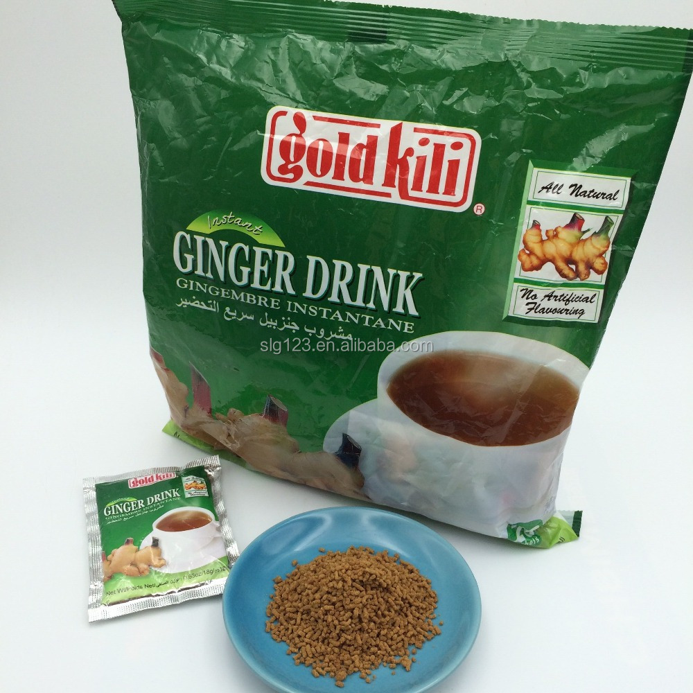 Nigeria 18g golden king healthy instant powder ginger drink