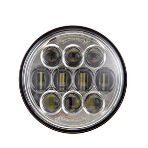 "Hot Sale 80W 5.75"" led headlights 5 3/4 inch 5.75inch round motorcycle led headlight for harley"