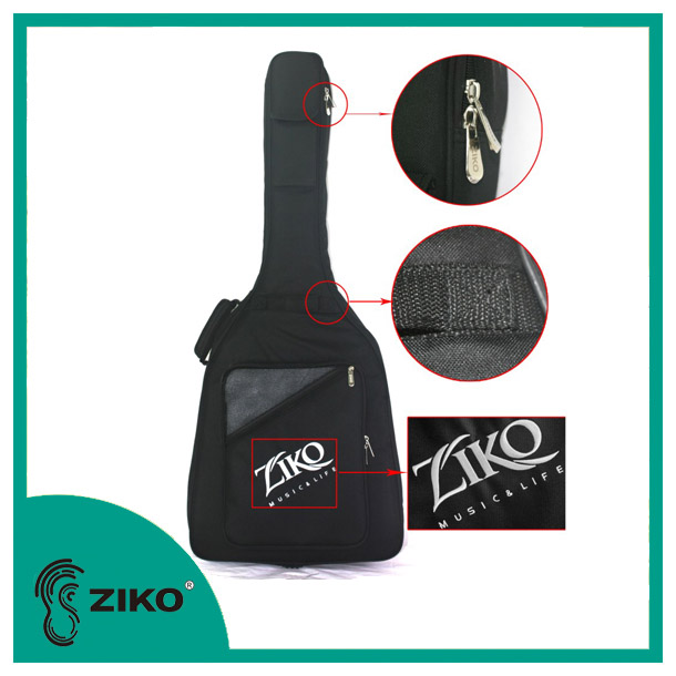 China Professional Music Instrument Manufacture supply high quality musical instrument guitar bag for acepro guitars